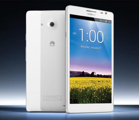 Известна стоимость 6-дюймового смартфона Huawei Ascend Mate