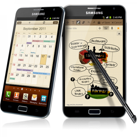 Смартфон Samsung Galaxy Note 3, возможно, получит экран нового поколения