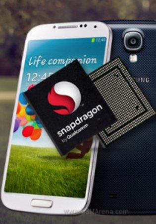 Большая часть первой партии смартфонов Samsung Galaxy S4 базируется на процессоре Qualcom Snapdragon 600