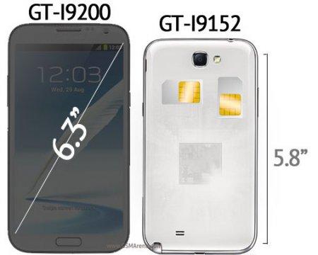Samsung запустит серию смартфонов Galaxy Mega