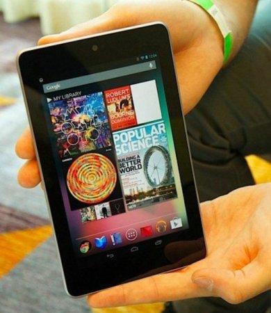 Google Nexus 7 второго поколения появится в июле