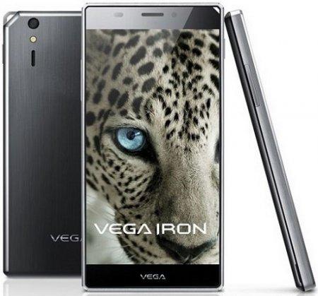 5-дюймовый смартфон Pantech Vega Iron представлен официально