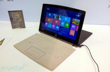 Планшет Inhon Carbon с разгоном CPU и клавиатурой в духе Surface