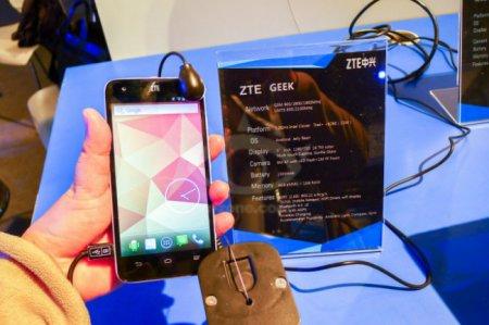 Смартфон ZTE Geek быстрее Samsung Galaxy S 4 и HTC One