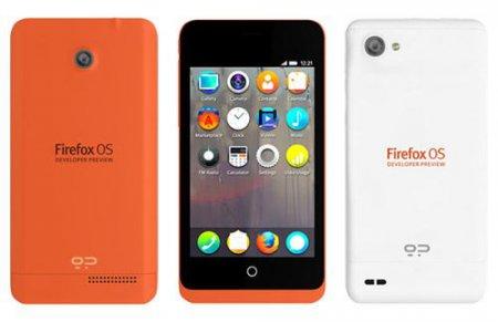 Смартфоны с ОС Firefox поступили в продажу и были раскуплены