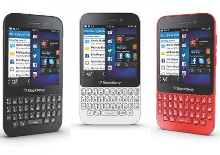 Смартфон BlackBerry Q5 с клавиатурой QWERTY представлен официально