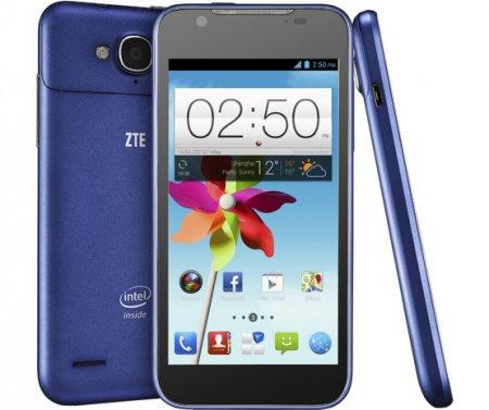 ZTE Grand X2 – смартфон на базе двухъядерного процессора Intel Atom