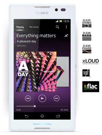 Sony Mobile представила смартфон Xperia C на платформе MediaTek