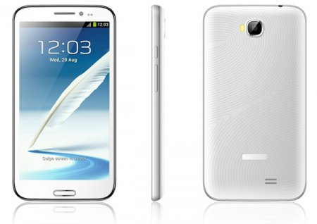 Смартфон DreamMobile M57 3G получил 5,7-дюймовый дисплей