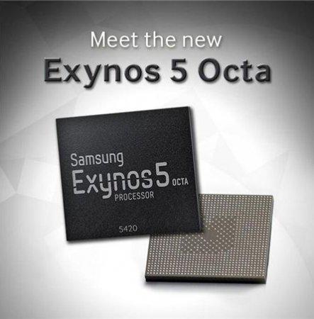 Новый процессор Samsung Exynos 5 Octa на 20% мощнее предшественника