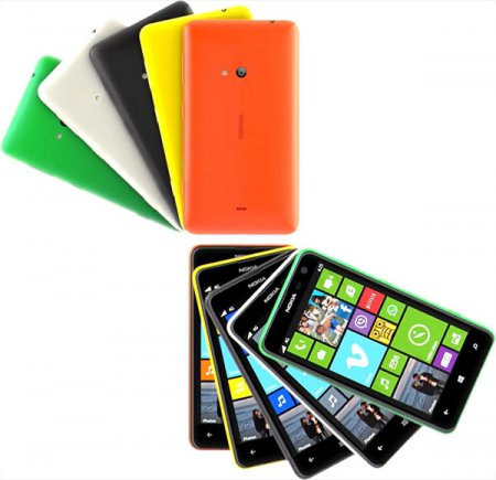 Официальный анонс самого большого смартфона компании Nokia Lumia 625
