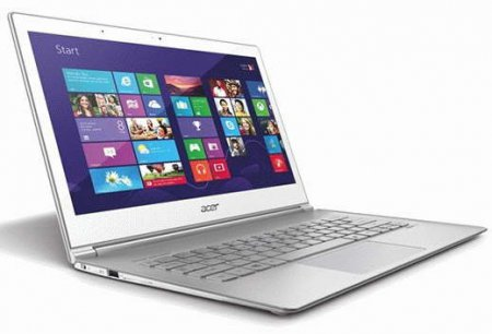 Компактность форм и современный дизайн в ультрабуке Acer Aspire S7-392