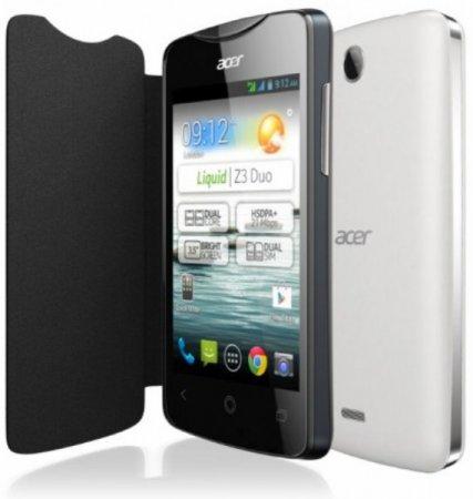 Анонсирован недорогой смартфон Acer Liquid Z3