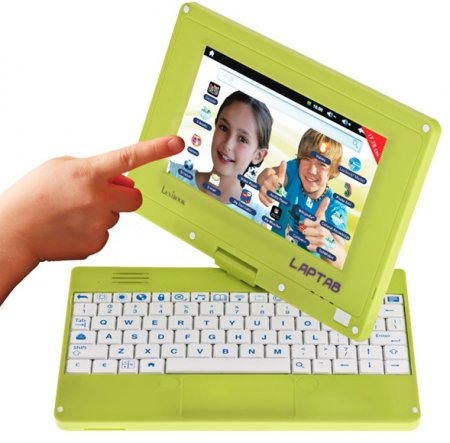 Детский нетбук-трансформер Lexibook Laptab