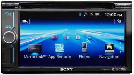 AV-ресивер Sony XAV-602BT синхронизируется со смартфонами