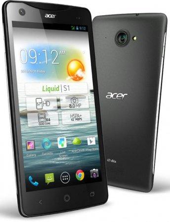 Acer Liquid S1 – новый флагман в линейке коммуникаторов тайваньской компании
