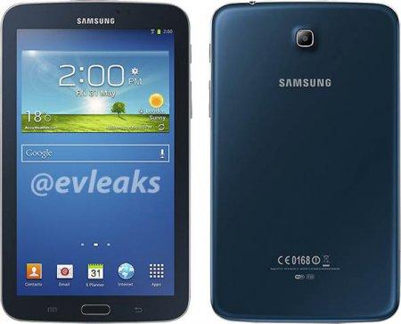 Планшет Samsung Galaxy Tab 3 7.0 будет выпущен в темно-синем варианте