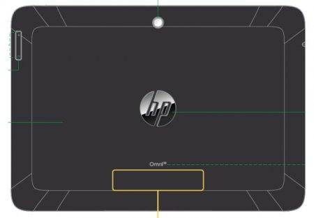 HP отдала свой новый планшет Omni 10 на тестирование в FCC