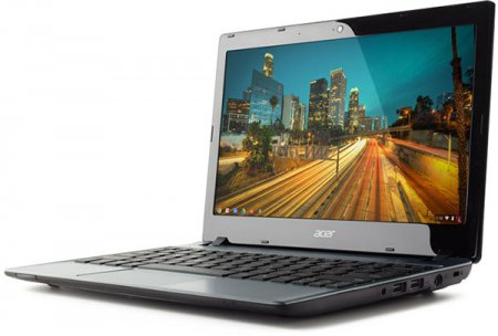Acer Chromebook C7 получил процессор Intel Celeron 1007U