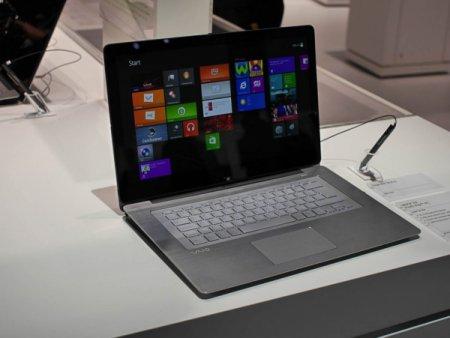IFA 2013: Sony предложила оригинальный гибрид планшета и ноутбука на Windows 8
