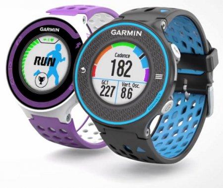 Спортивные часы Garmin Forerunner 620 и 220
