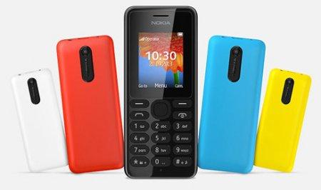 Доступные телефоны Nokia 108 и Nokia 108 Dual SIM с VGA-камерой