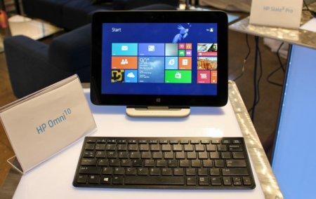 HP представила планшет Omni 10 на платформе Intel Bay Trail