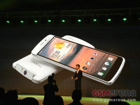 Анонсирован смартфон Oppo N1 с вращающейся на 206 градусов 13-Мп камерой
