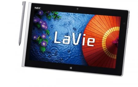 Планшет NEC LaVie Tab W построен на платформе Intel Atom