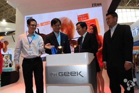 ZTE Geek, первый в мире смартфон на Tegra 4, представлен официально