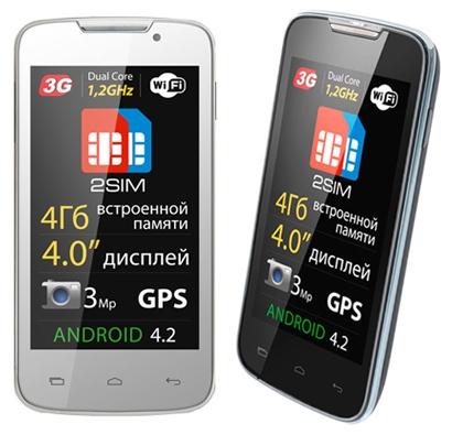 Explay анонсировала смартфоны-двухсимники Alto и Golf