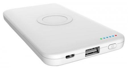 Портативный аккумулятор Mugenizer N11 с поддержкой беспроводной подзарядки
