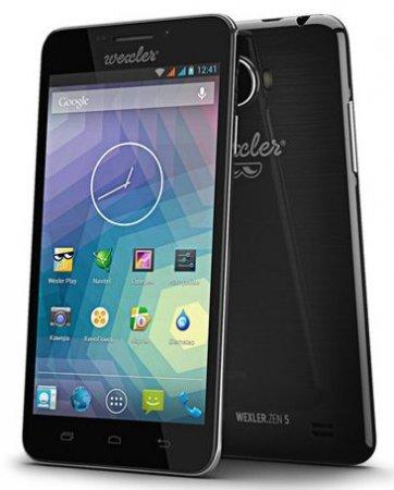 Новый смартфон WEXLER.ZEN 5 с Full HD дисплеем и 13 Мп камерой