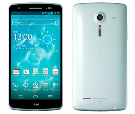 Смартфон LG isai с 5,2-дюймовым дисплеем формата Full HD