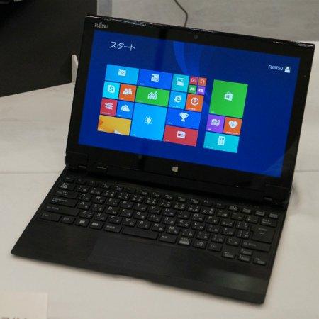 Водонепроницаемый планшет-ноутбук Fujitsu Arrows Tab QH77/M имеет активное охлаждение