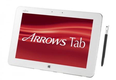 Планшет Fujitsu ARROWS Tab QH55/M работает под управлением операционной системы Windows 8.1