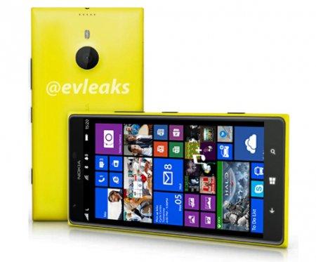 Раскрыты характеристики фаблета Nokia Lumia 1520