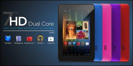 """Двухъядерный 7"""" планшет Ematic EM63 на Android 4.1 за $84"""