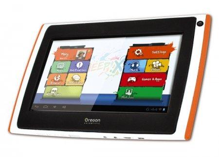 Детский планшет Oregon Scientific MEEP! X2 с 7-дюймовым дисплеем