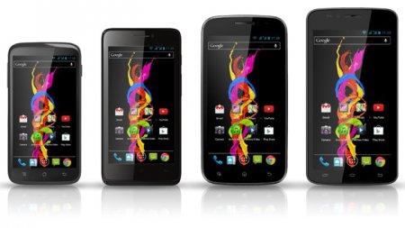 Новая линейка недорогих Android-смартфонов Archos Titanium