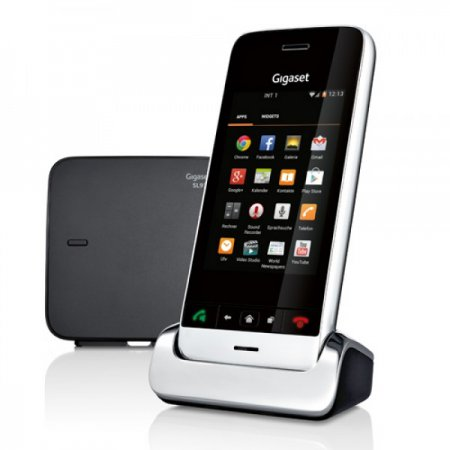 DECT-телефон Gigaset SL930A под управлением Android 4.0 Ice Cream Sandwich
