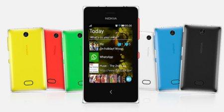 Nokia пополнила линейку Asha моделями 500, 502 и 503