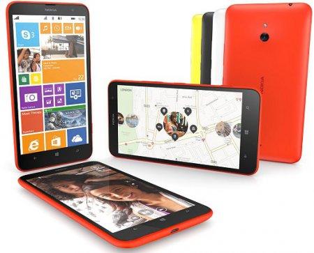 Nokia представила планшетофоны Lumia 1520 и 1320