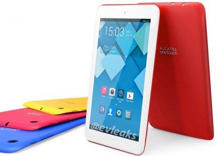 В Сеть утекли изображения «цветных» планшетов Alcatel OneTouch Pop