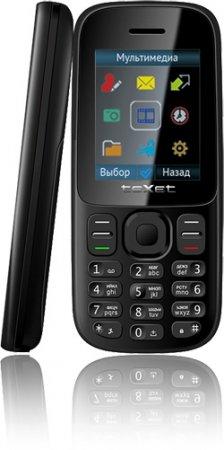 Бюджетный телефон-двухсимник teXet TM-D109 с камерой и плеером