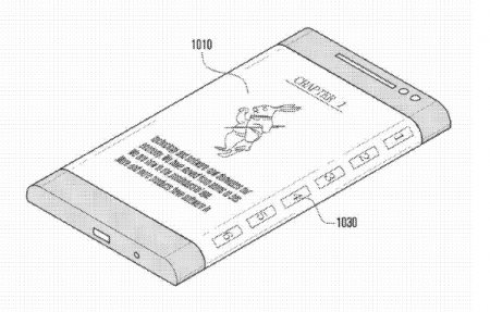 Samsung выпустит в 2014 году смартфон с трехсторонним дисплеем