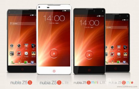 Анонсированы недорогие смартфоны ZTE Nubia Z5S и Z5S mini