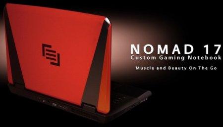 Игровой ноутбук NOMAD 17 стал доступен на платформе от AMD