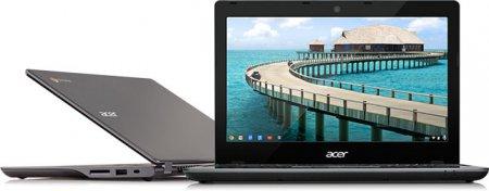 В России начались продажи хромбуков Acer и Samsung