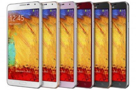 Расширена цветовая гамма смартфонов Samsung Galaxy Note 3